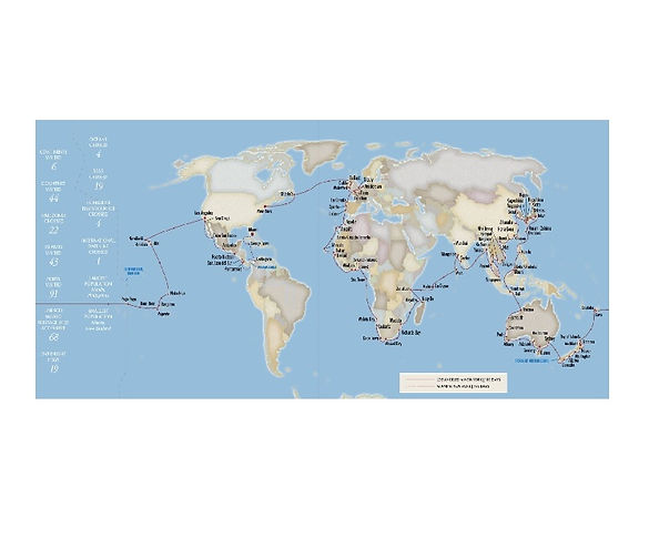 De Los Ángeles a New York ¡alrededor del mundo!