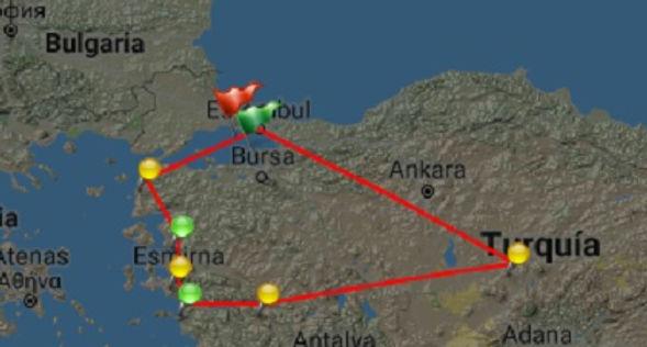 Estambul, Canakkale, Pérgamo, Esmirna, Éfeso, Pamukkale, Capadocia