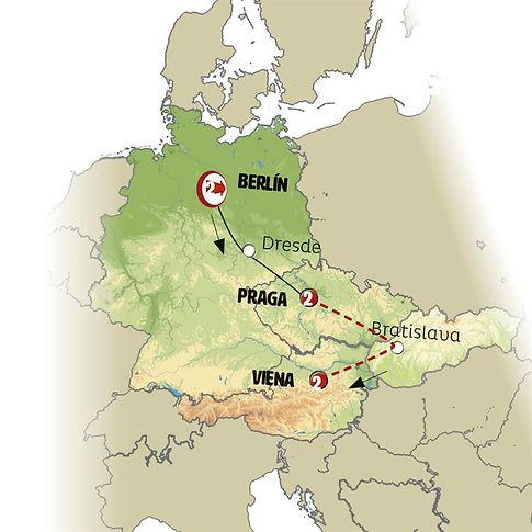 Praga, Ámsterdam y Berlín
