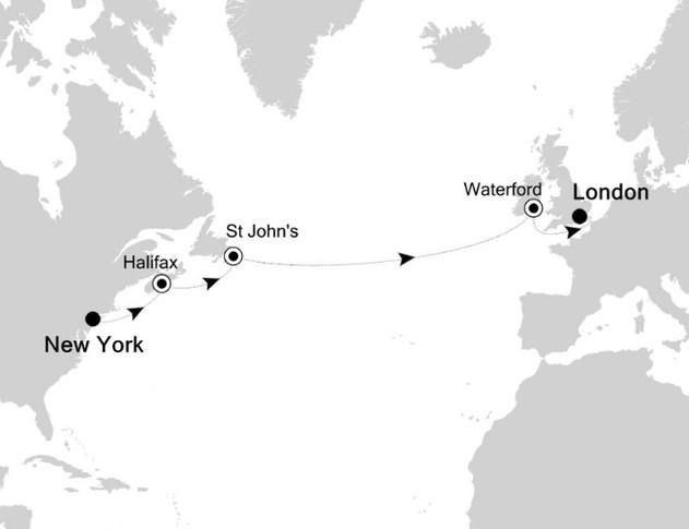 Estados Unidos, Canadá, Irlanda e Inglaterra
