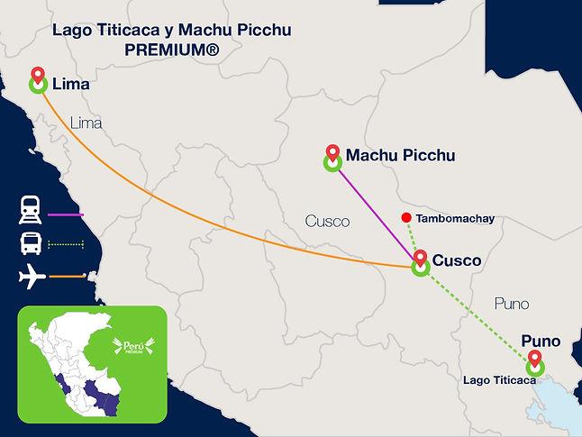 Lima, Cusco, Machu Picchu, Puno