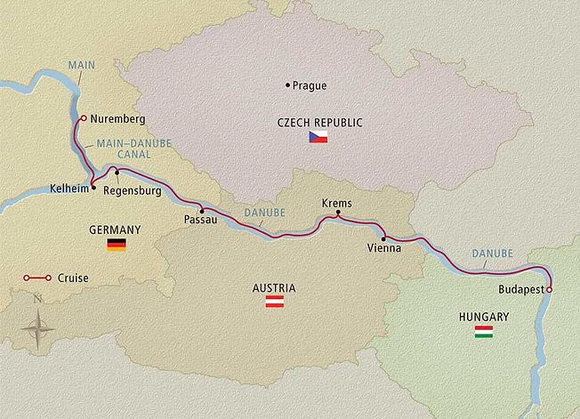 Alemania, Austria y Hungría