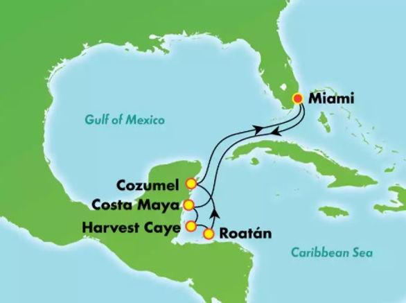 Estados Unidos, México, Belice, Honduras