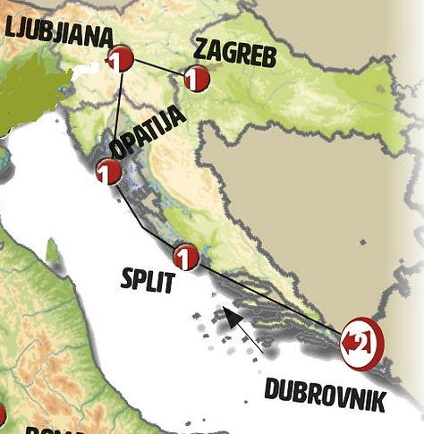 Croacia y Eslovenia