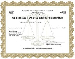 Michigan Service Registration
