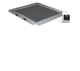 RL-350-5 Single-ramp Portable Bariatric Wheelchair Scale