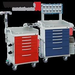 WHISPER Medical Carts