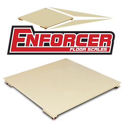 Enforcer Frameless Floor Scales with Smooth Decks