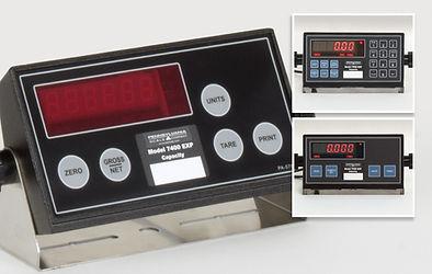 7400, 7500 & 7600 EXP Scale Indicators
