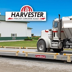 Harvester Precast Concrete Truck Scale