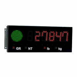 LED Display with Stop/Go Light for Wheel/Axle Scales