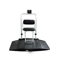 350-10-4 Dual-ramp Wheelchair Scale with Seat