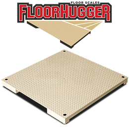 FloorHugger Extra Heavy-Duty Floor Scales