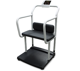 250-10-4 Bariatric Scale with Handrail and Chair Seat