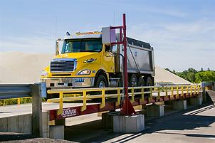 Rice Lake Survivor truck scale