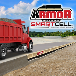 ARMOR® Concrete Deck Truck Scale