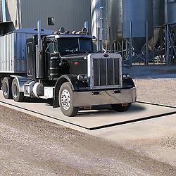SRC Electronic Concrete Deck Truck Scales