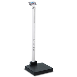 apex Digital Scales with Mechanical Height Rods