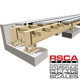RSCA Pit Type Rail Scale