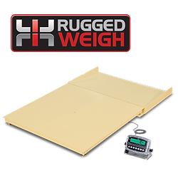RuggedWeigh Economical Floor Scales