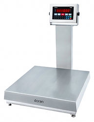 """2200 SS Bench Scale with 20"""" Column"""