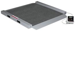 RL-350-6 Dual-ramp Portable Bariatric Wheelchair Scale