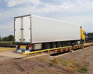 SURVIVOR® OTR-LP Low-Profile Steel Deck Truck Scale