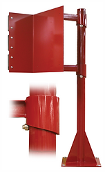 Kiosk Safety Swing-Away Arm