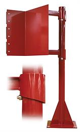 Kiosk Safety Swing-Away Arm
