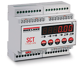 SCT-1100 Advanced Series Signal Conditioning Weight Transmitter