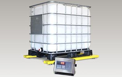 U6600 Series Low-Profile Bulk Container Scale