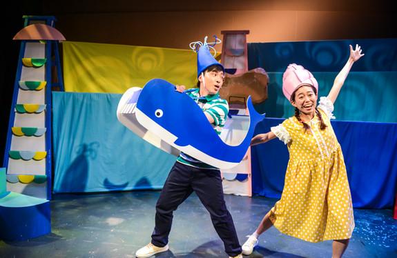 《小海螺與大鯨魚之環保遊世界》演出劇照