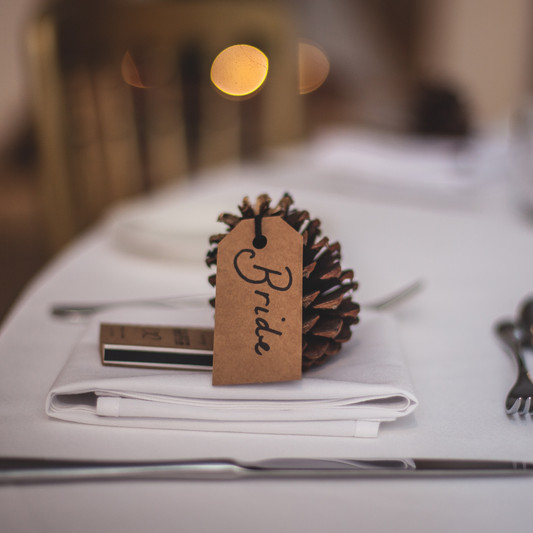 Woodland Wedding Table Display Option