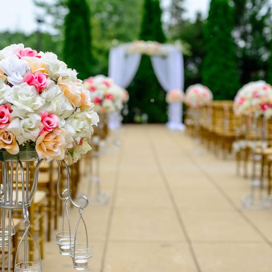 Outdoor Spring Wedding