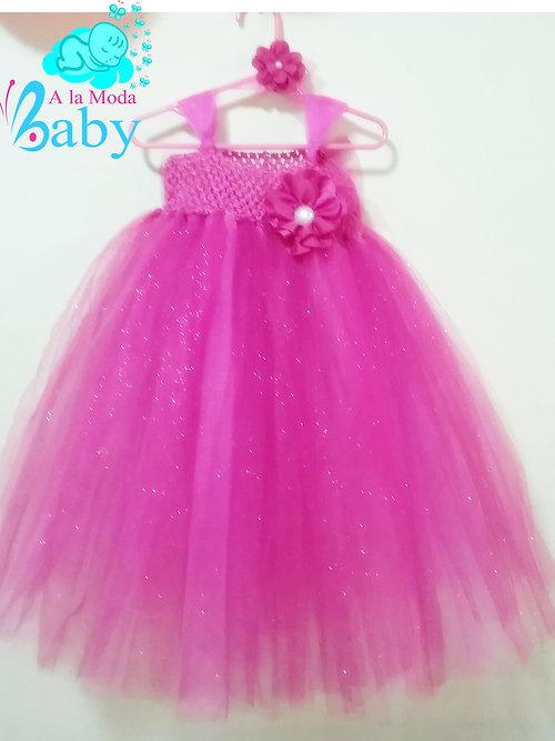 Vestido para niña de Tul para cumpleaños, fiestas o eventos especiales 1