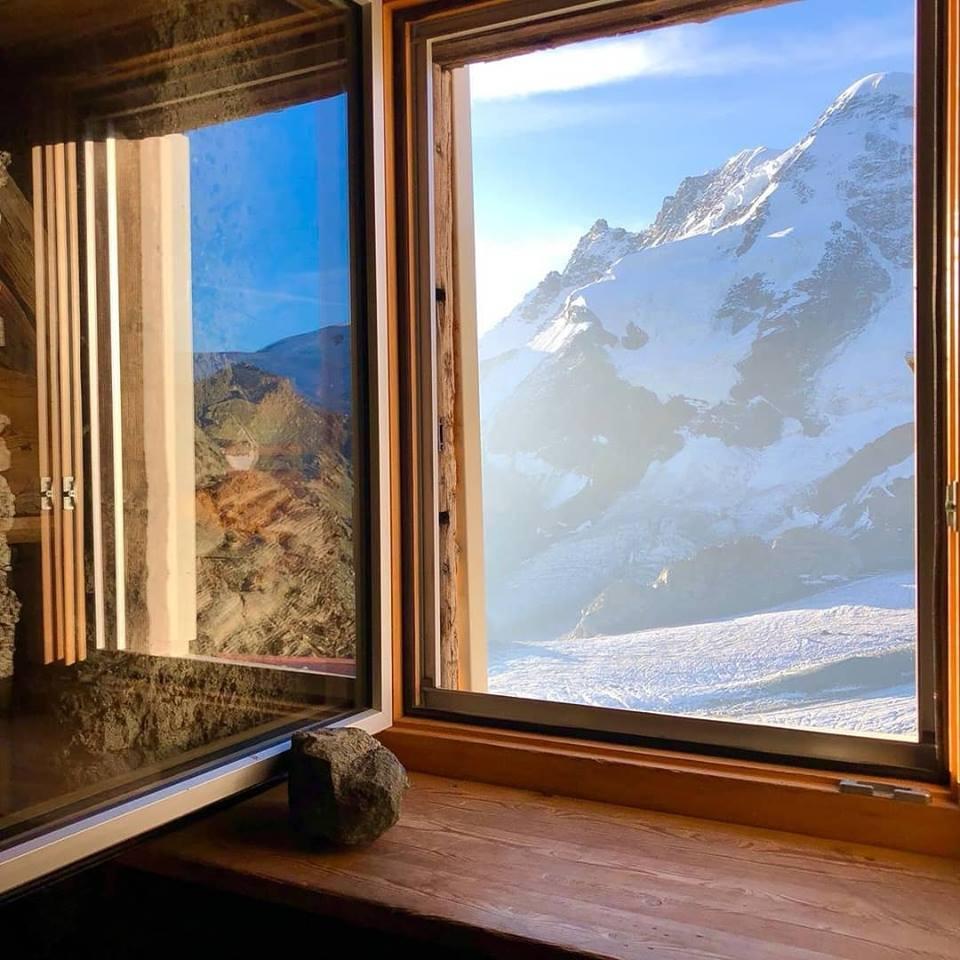 Traumhafter Ausblick aus der Hütte