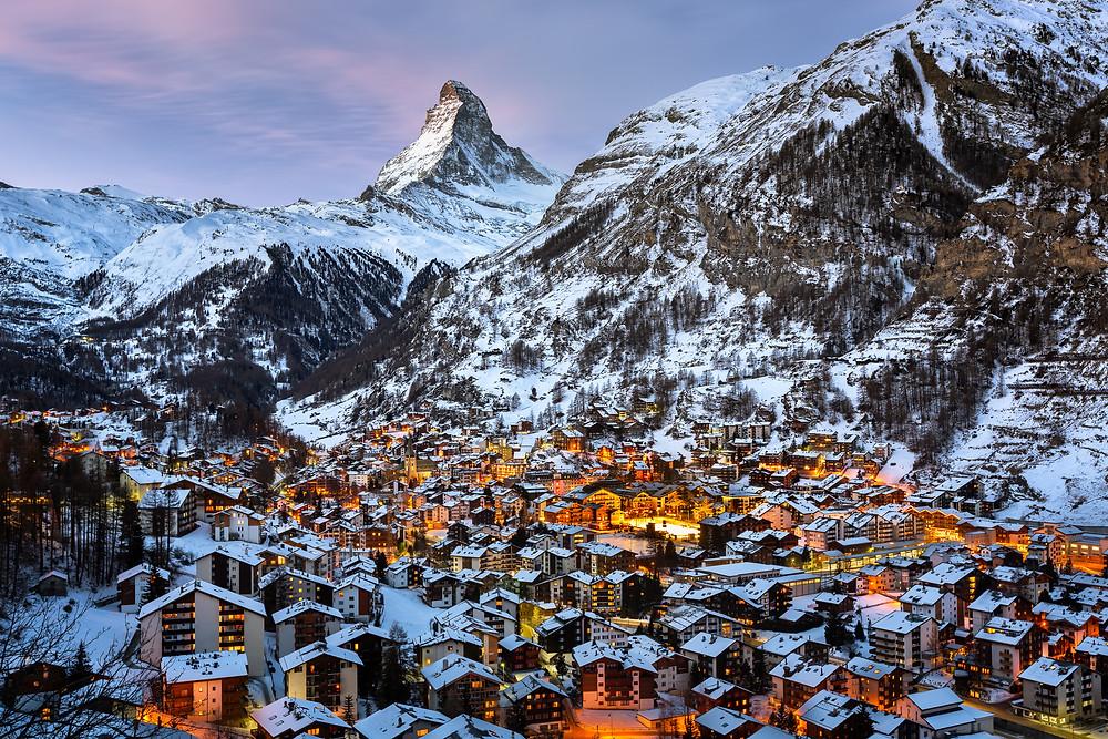 Zermatt - Blick aufs Matterhorn