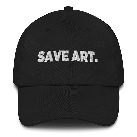 SAVE ART. DAD HAT