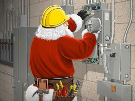 Merry Christmas from your favorite electricians!