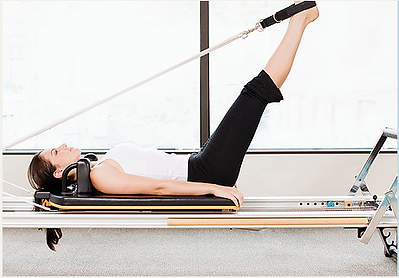 st ives reforme pilates exercise