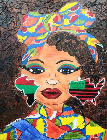 Afro Pride 2020 16x20