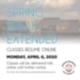 NTU 2020 Spring Break Extended - 3-26-20