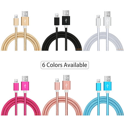 Cable USB lightning compatible iPhone