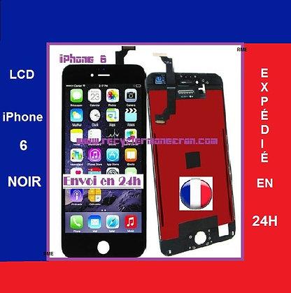Ecran LCD+Vitre tactile iPhone 6 Noir