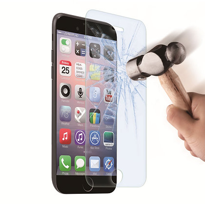 Vitre protection d'écran en verre trempé incassable  IPHONE 6/6S