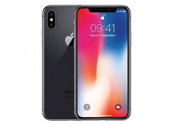 iPhone X 64 Go - Gris Sideral - Débloqué