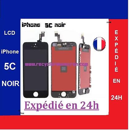 Ecran LCD+Vitre tactile iPhone 5C Noir