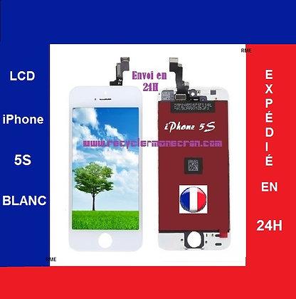 Ecran LCD+Vitre tactile iPhone 5S Blanc