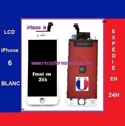 Ecran LCD+Vitre tactile iPhone 6 Blanc