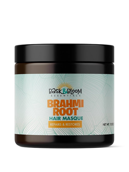 Bask & Bloon     Brahmi Root Hair Masque